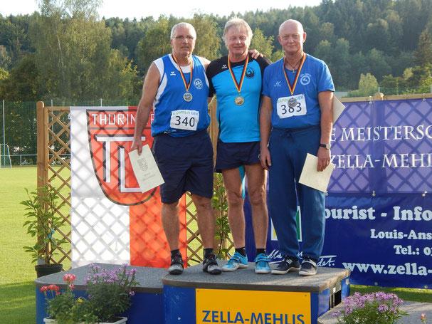 Gerhard Zachrau verteidigte mit 4.202 Punkten sehr souverän seinen DM-Titel aus dem Vorjahr!