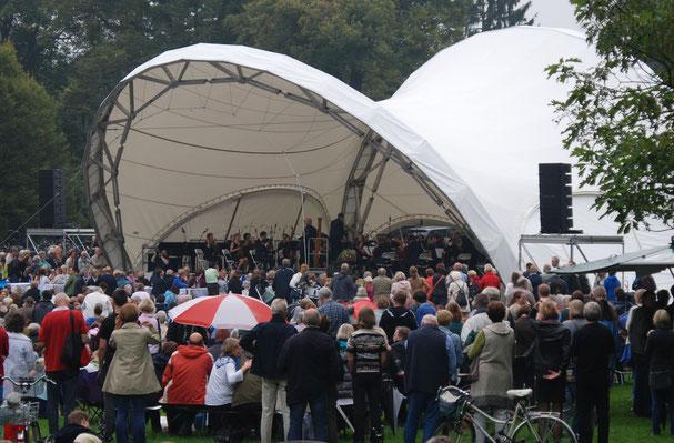 Klassik Open Air,  Bühne, Open Air Bühne, Konzertmuschel, Konzertbühne