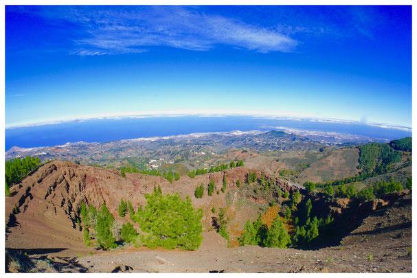 "Vulkankrater ""Pinos de Gáldar"" auf Gran Canaria"