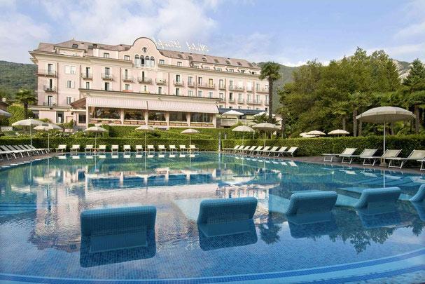 Seehotel See Piemonte Golfpaket Panorama  Golf Lago Maggiore Golfpakete Ferien Italien