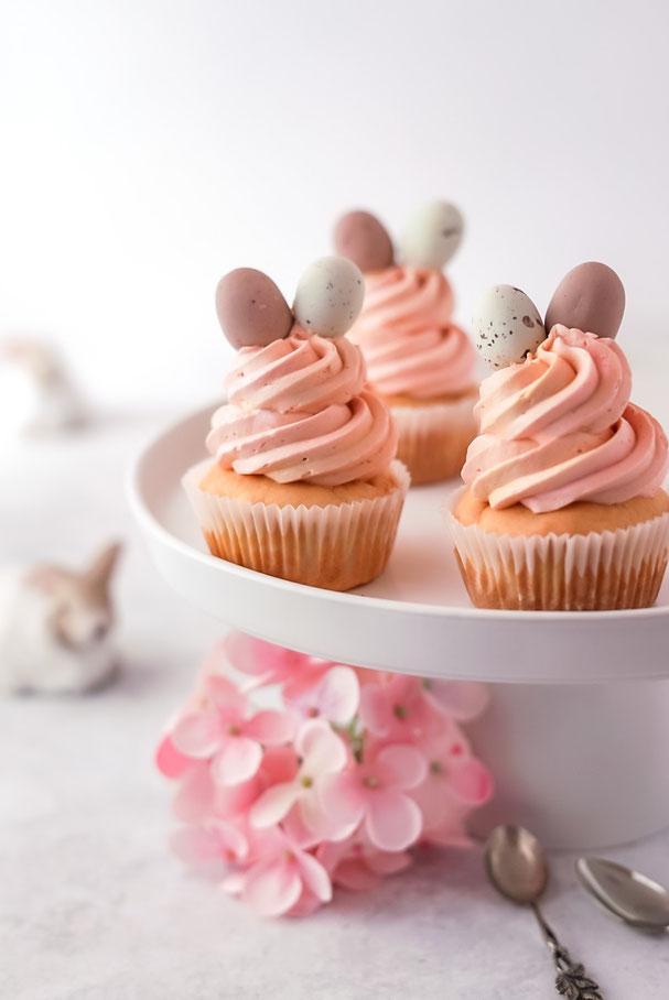 Zitronen Cupcakes zu Ostern