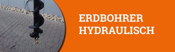 Erdbohrer hydraulisch