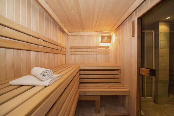 Eine Sauna kann bei Trockenen Augen helfen