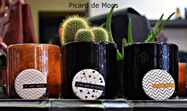 Badge patois Mons montois picard