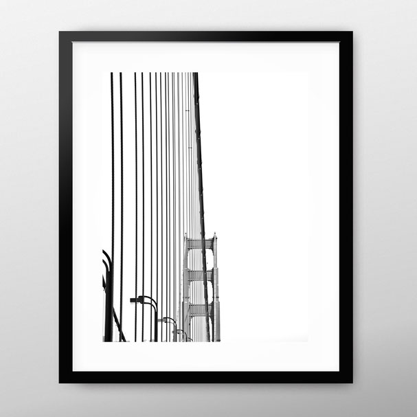 Photographic Art Print 'Golden Gate', San Francisco by PASiNGA