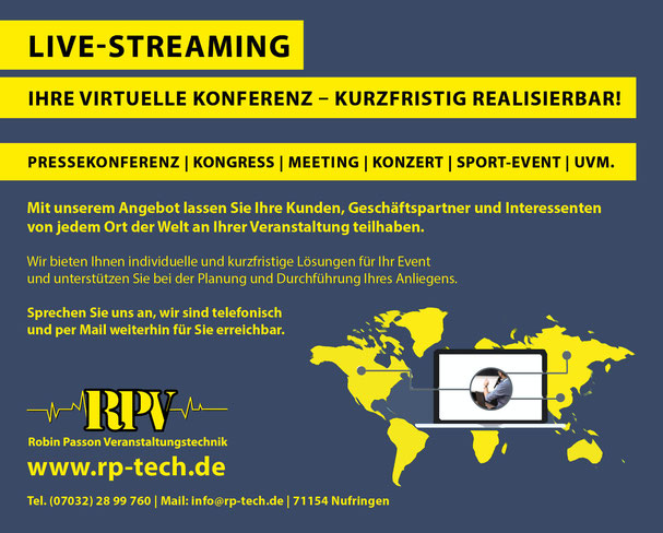 Live-Streaming Hybrid-Events