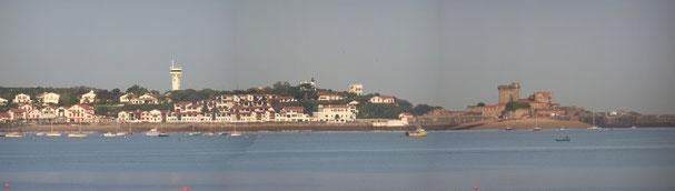 La baie et le fort