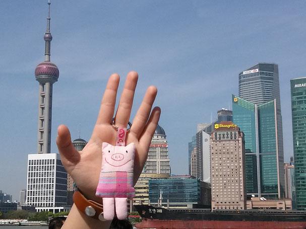 Frau Polly live aus Shanghai!