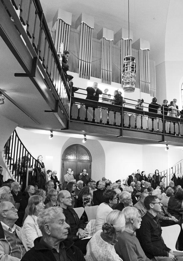 Volles Haus und begeisterte Zuhörer: Festakt zur Inbetriebnahme der Woehl Orgel am Reformationstag 2017