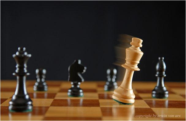 Schach, der König ist geschlagen
