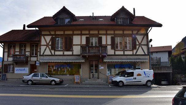 Standort Wimmis der Bäckerei Graber