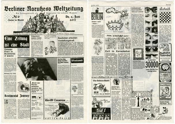 Berliner Naruheso Weltzeitung, Newspaper Berlin