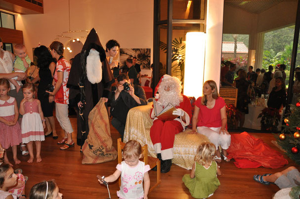 Santa Claus Event auf Schweizer Boden