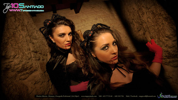 Azahara Illodo & Jessica Couto Rivademar