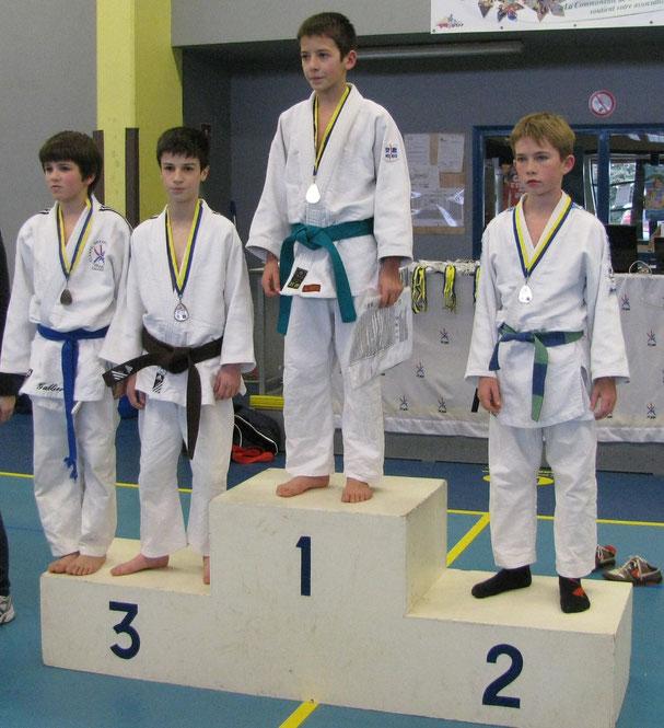 Quentin Douarre 3ème -34 kg
