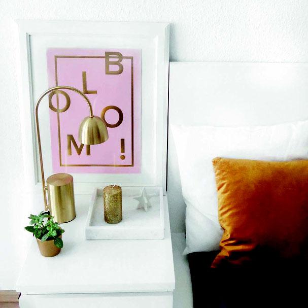 BLOOM Print Poster als Geschenkidee