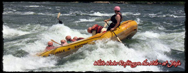 Nile White – Water Rafting