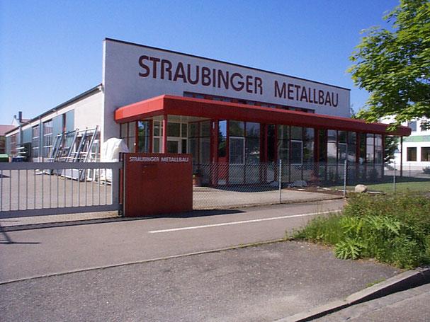 Firmengelände der Straubinger Metallbau GmbH