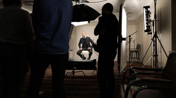 The Westin Grand Frankfurt/Interview Champion Eleven-Pep Guardiola