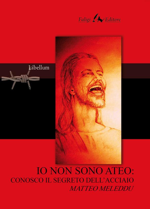 Il riflesso delle fiamme dell'Inferno sul volto di Gesù che ride del giudizio dei non credenti