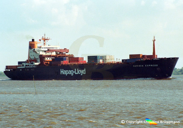 "Hapag Lloyd Containerschiff ""CARIBIA EXPRESS"""