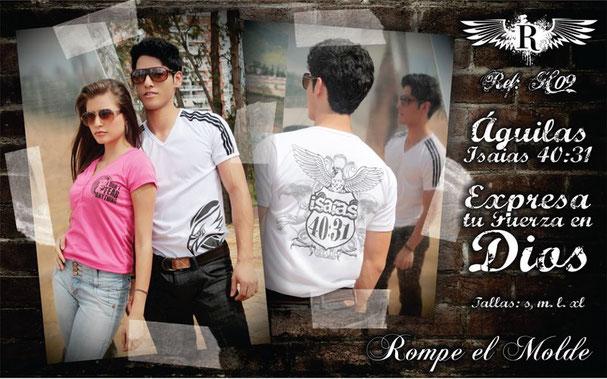 Camiseta cristiana - Águilas