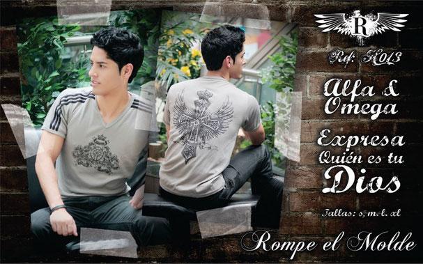 Camiseta Cristiana - Alfa & Omega