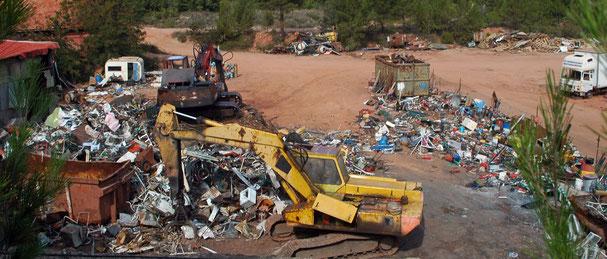 Recyclage entreprise privée du Var. 2OO9. s&m