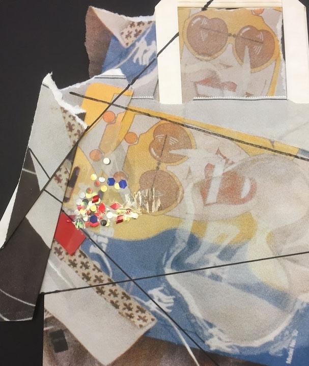 Künstler Tragtasche der Migros von Daniel Spörri - erhöht aufgelegt