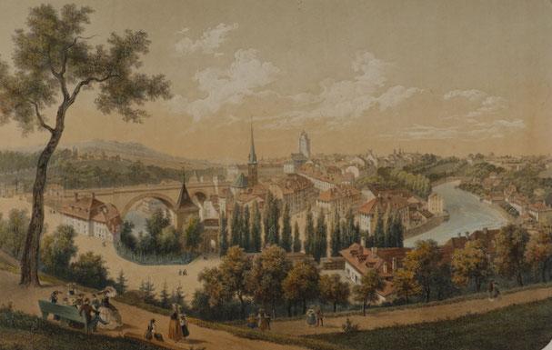 Berne; Dessine et lithog par Deroy