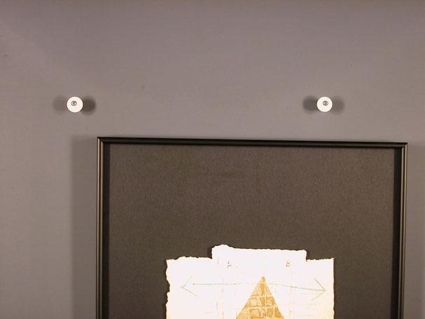 Bildaufhänger kaufen; Anleitung Bildaufhänger mit Exzenter
