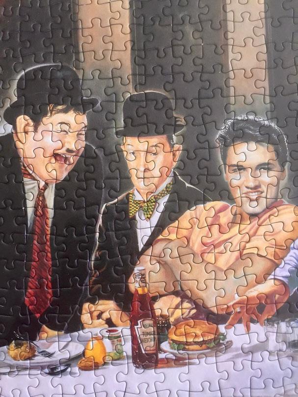 Puzzle; Stabile Einrahmung