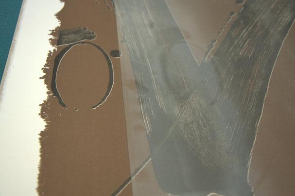 Beschlagenes Bilderglas