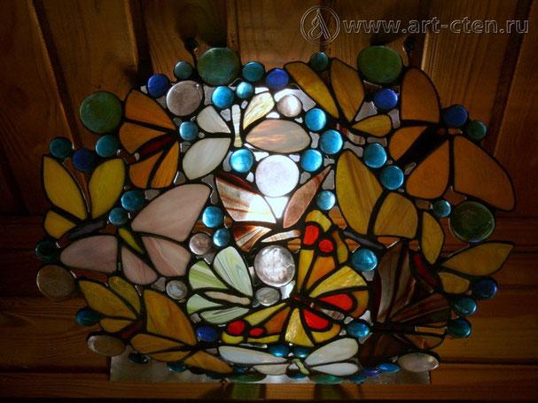 Настенный светильник «Бабочки»