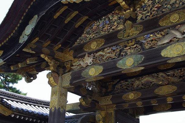 замок Нидзё в Киото