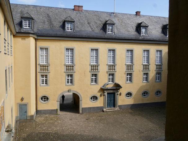 Wasserschloss Dyck Innenhof