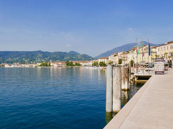 Italien Urlaub: Gardasee, Salo Uferpromenade