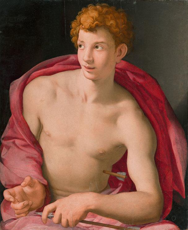 Agnello Bronzino, St. Sebastian, ca. 1533, Madrid, Museum Thyssen-Bornemisza