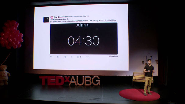 How waking up every day at 4.30am can change your life   Filipe Castro Matos   TEDxAUBG, 2015