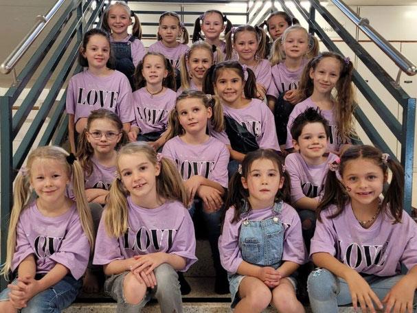 Damenriege Lommiswil - Bild Abteilung Mädchenriege Unterstufe