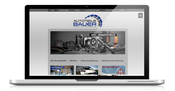 webdesign autoteile