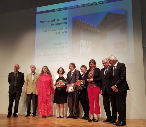 Denkmalschutzpreisverleihung 2018 in Ulm