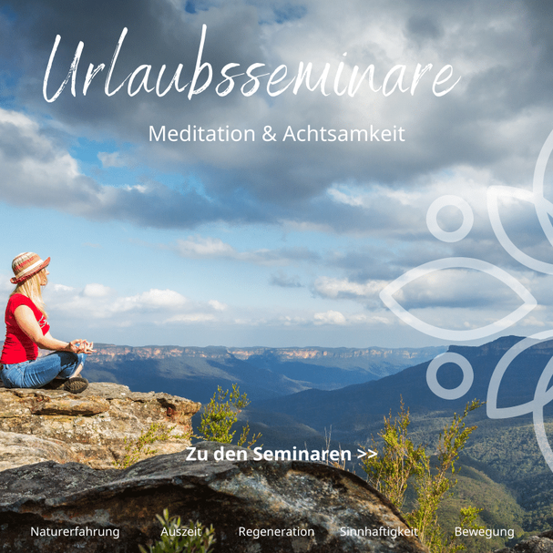 Im Urlaub Meditation erlernen: Gemeinschaft erfahren, eine Auszeit für Dich