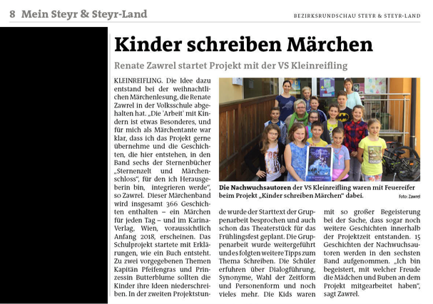 Bericht Bezirksrundschau Steyr & Steyr Land Nr. 22/02.06.2017