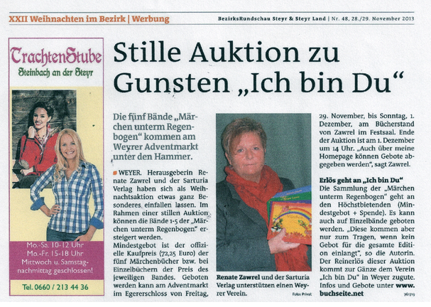 Bezirksrundschau Steyr - Ausgabe KW 48 - Sonderteil Weihnachten im Bezirk
