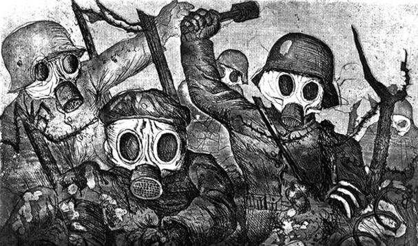 """""""La guerra"""" Otto Dix"""