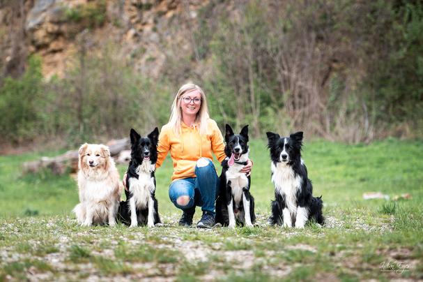 HundetrainerIn, Erziehungs- und VerhaltensberaterIn für Hunde, Dipl. BachblütenberaterIn für Tiere, TierenergetikerIn, TrainingsspezialistIn (laufende Ausbildung), K9- Mantrailtrainer i.A.