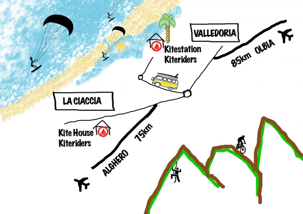 anfahrt kiteschule kiteandbike