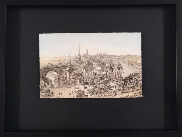 Einrahmung  Bild Bern (Altstadt)