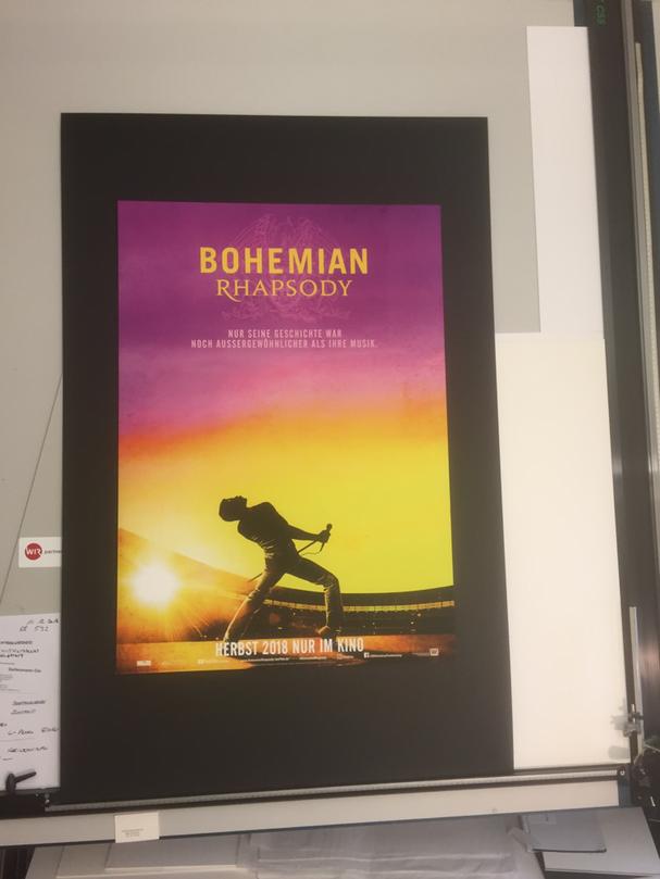 Kino-Plakat Bohemian Rhapsody